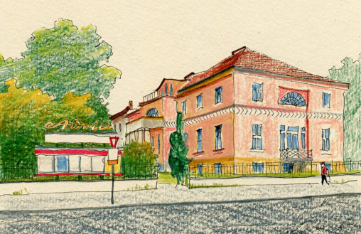 Illustration vom Adria Filmtheater