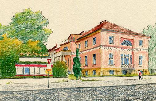Illustration vom Adria Filmtheater