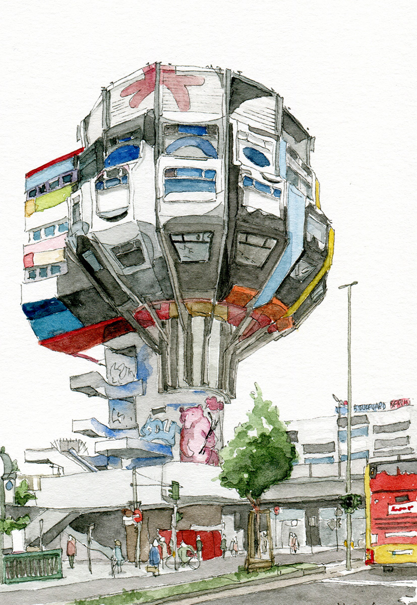 Illustration vom Bierpinsel